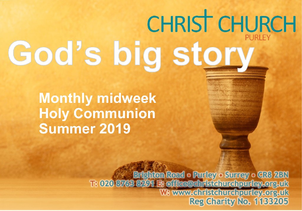 Midweek communion publicity Su